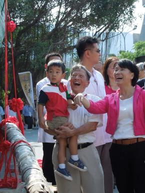 Paul Chow & Ms. Lung Ying-tai