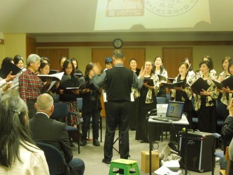 Taiwanese and Japanese Choirs