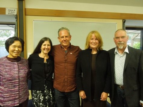 Yoko and Robin with national T'ai Chi committee members
